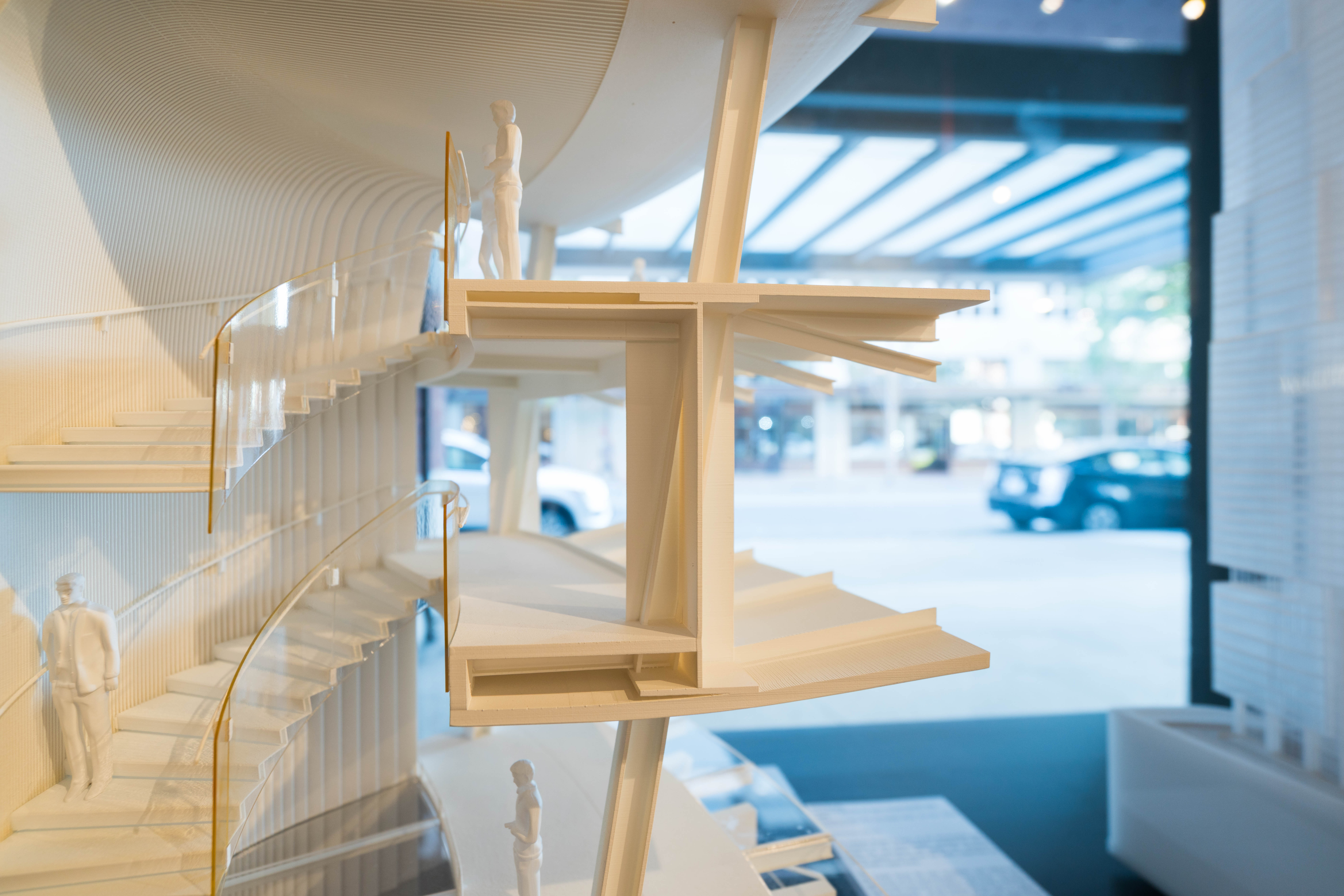 Seattle Architecture Foundation.   String Art install by the Seattle Design Nerds